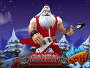 Santa Rockstar ..